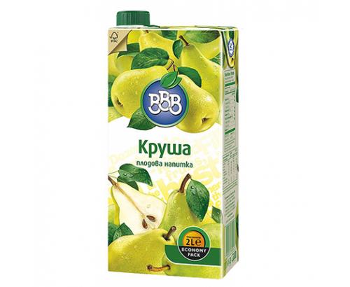 Плодова напитка ВВВ 2л Круша 12%
