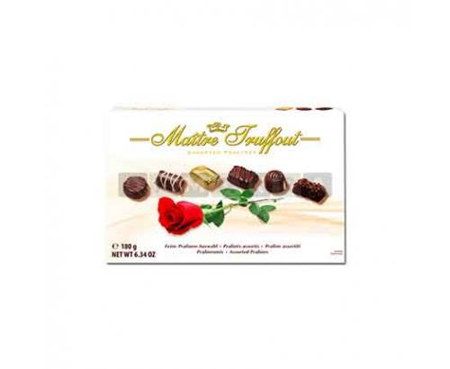 Шоколадови бонбони Майтре Трюфо Роза Асорти 180г