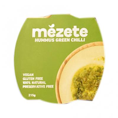 Хумус Мезете 215г Люто зелено чили