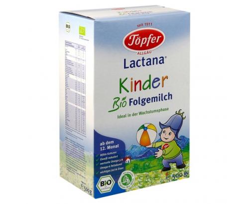 Био адаптирано мляко Лактана 500г 12+ месеца