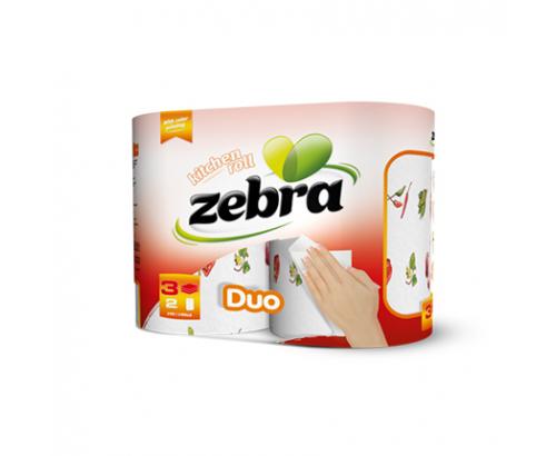 Кухненска ролка Зебра Дуо 2бр
