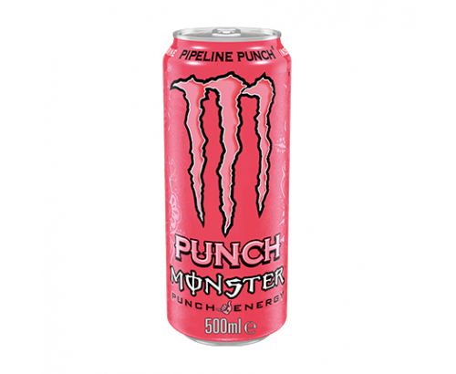 Енергийна напитка Монстър 500мл Пайплайн пауч