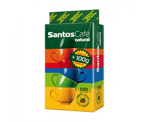 Мляно кафе Сантос Натурал 400+100г