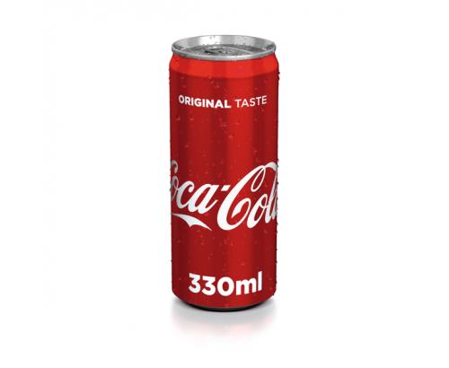 Газирана напитка Кока Кола 330мл Кен