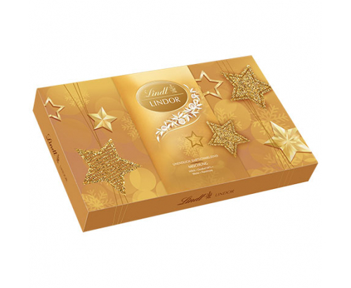 Празнични шоколадови бонбони Линдт Линдор 199г Асорти