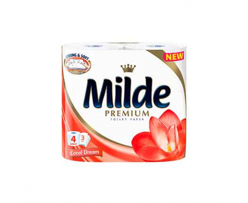Тоалетна хартия Милде 4бр Мистик Ориент