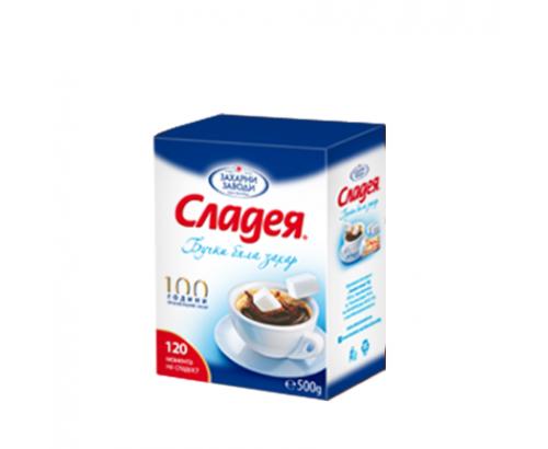 Бучки бяла захар Сладея 500г