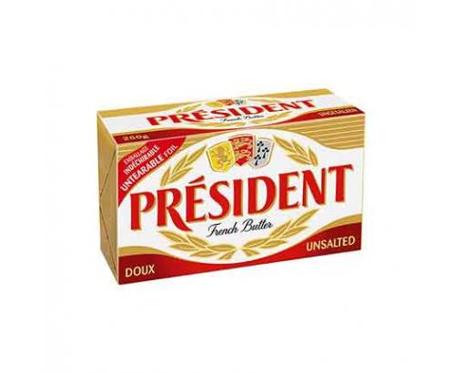 Краве масло Президент 250г