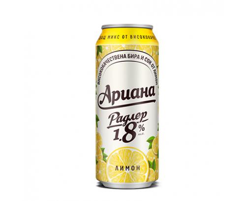 Бира Ариана Радлер 500мл лимон