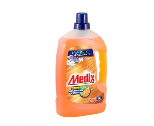 Почистващ препарат за паркет и ламинат Медикс 1,5л Момина сълза