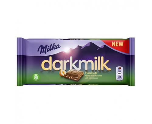 Шоколад Милка 85г Дарк Лешник