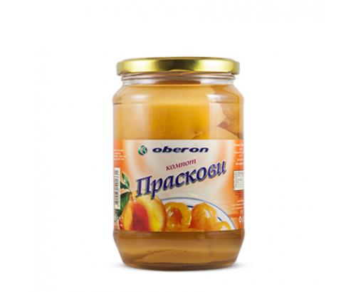 Компот Оберон 680г Праскова