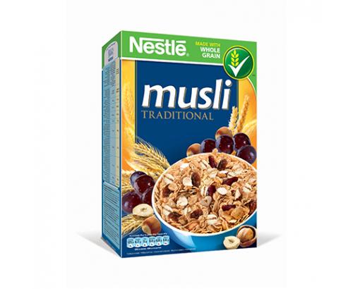 Зърнена закуска Нестле Мюсли 350г Традиционни