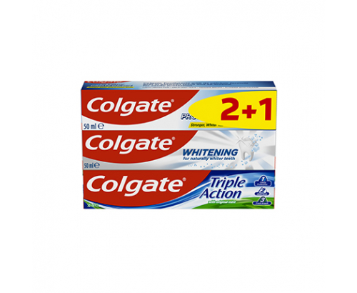 Паста за зъби Колгейт 3х50мл
