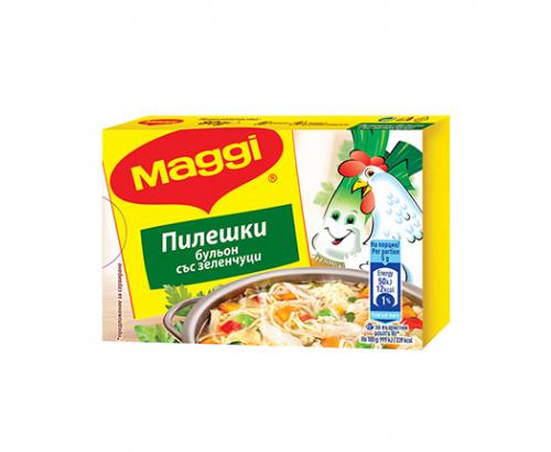 Бульон Маги 80г Пилешки със зеленчуци