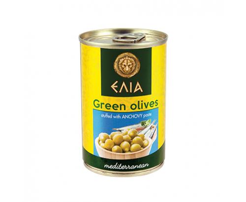 Зелени маслини с паста от аншоа Елиа 300г
