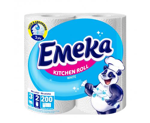 Кухненска ролка Емека Уайт 2бр