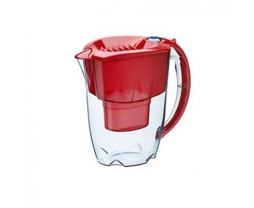 Филтрираща кана Аквафор Джаспър 2,8л Червена B25+