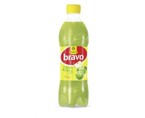 Напитка Браво 500мл Зелена ябълка