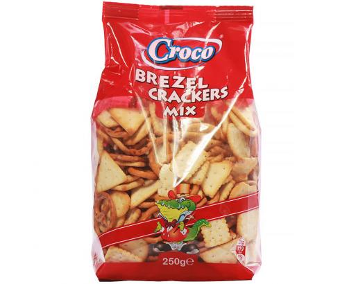 Бисквити Кроко 250г Асорти