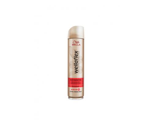 Лак за коса Велафлекс 250мл топлинна защита ниво 5