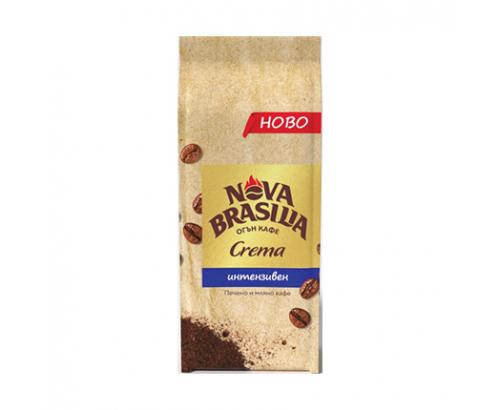 Мляно кафе Нова Бразилия 225г Крема Интенз