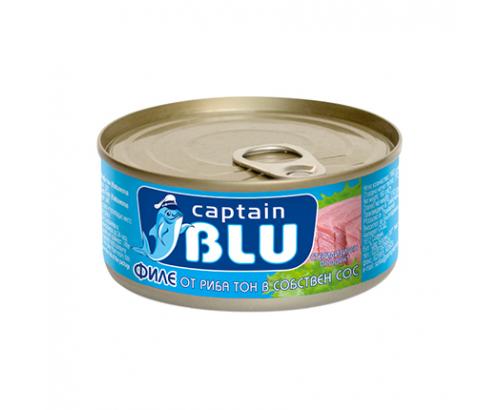 Риба Тон филе Кептън Блу 160г Собствен сос