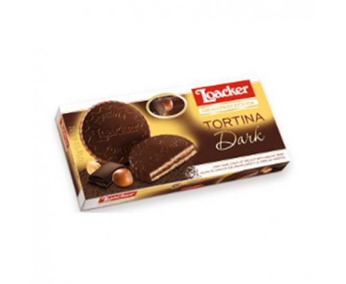 Бисквити Лоакер Тортина 125г Натурален Шоколад