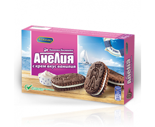 Бисквити Анелия 187г Крем Ванилия