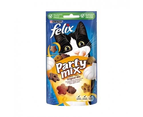 Лакомство за котки Феликс Парти Микс 60г Оригинал микс