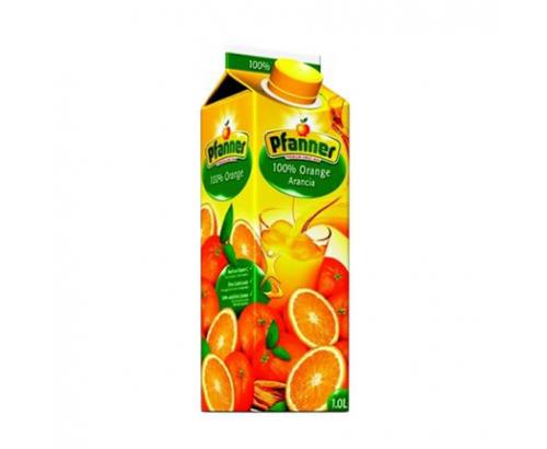 Натурален сок Пфанер 1л Портокал