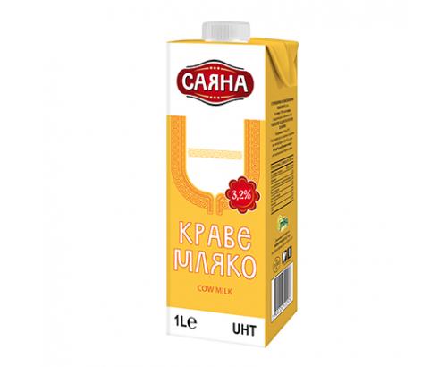 Мляко Саяна 3,2% 1л УХТ
