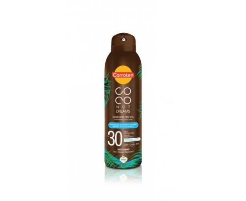 Плажно спрей олио Каротен 150мл Кокос SPF30