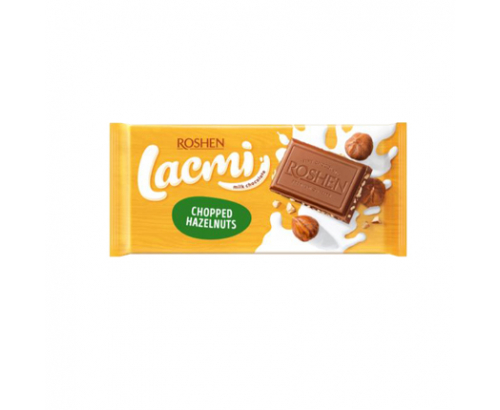 Шоколад Рошен Лакми 90г Млечен с трошен лешник