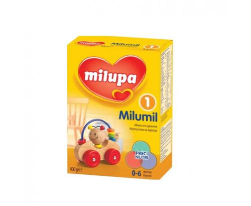 Адаптирано мляко Милумил 1 400г от 0 до 6 месеца