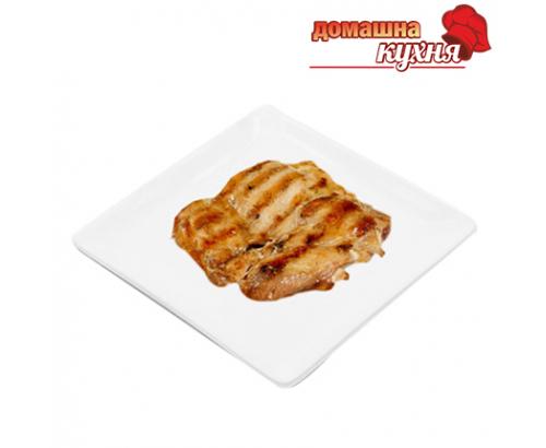 Печена пилешка пържола от бут