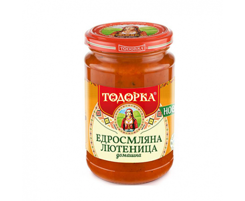 Едросмляна лютеница Тодорка 310г Домашна