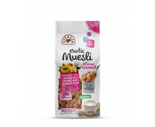 Мюсли Виталия 250г Пълнозърнести с 35% тропически плодове