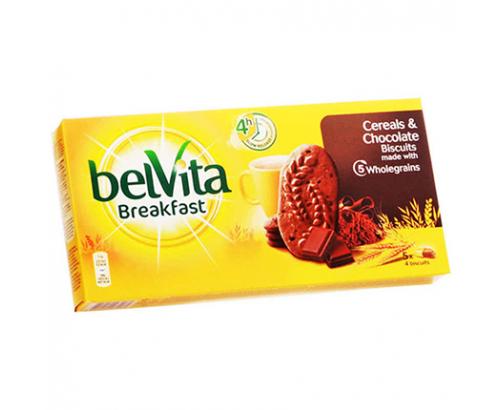 Бисквити Белвита 250г Шоколад