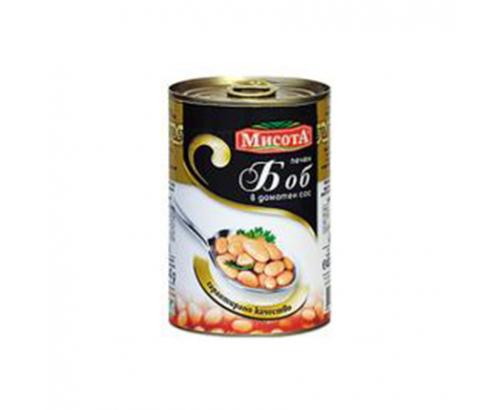 Боб Мисота 425мл Печен в доматен сос
