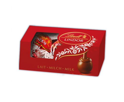 Шоколадови бонбони Линдт 75г Млечен