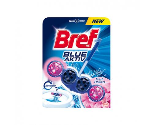 Ароматизатор за тоалетна Бреф 50г Блу актив топчета Цветя