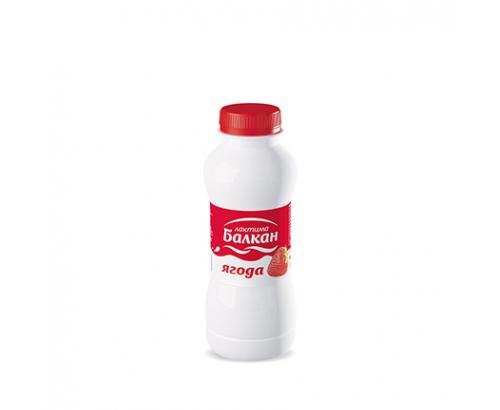 Млечна напитка Балкан 330мл Ягода