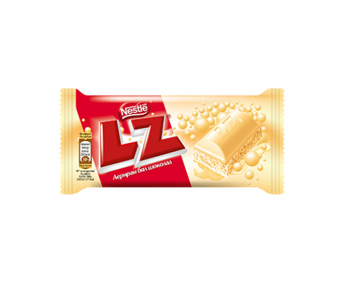 Аеро шоколад LZ 35г Бял