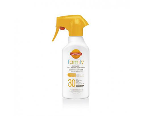 Плажно масло Каротен Фемили 300мл SPF30