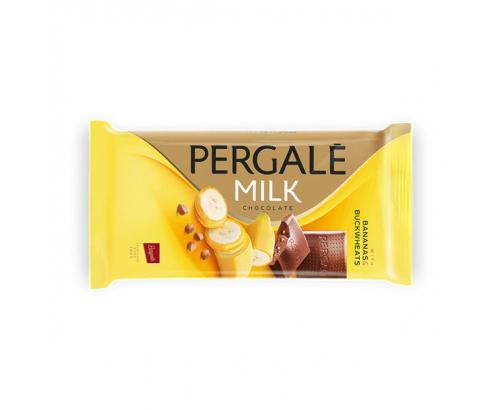 Шоколад Пергале Милк 93г С банан и елда