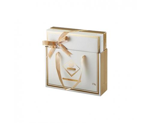 Шоколадови Бонбони Елит Гурме 170г бяла колекция