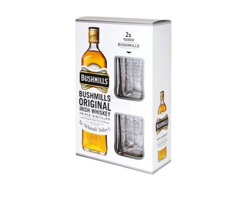 Уиски Бушмилс 700мл + 2 чаши