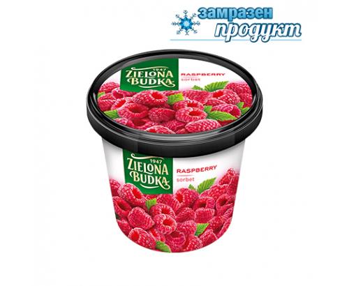Сладолед Зельона будка 500мл Малина