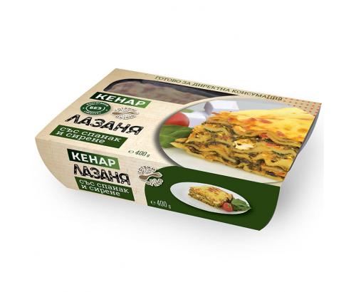 Лазаня със спанак и сирене Кенар 400г